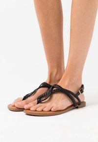 Madden Girl - ARIAA - T-bar sandals - black paris - 0