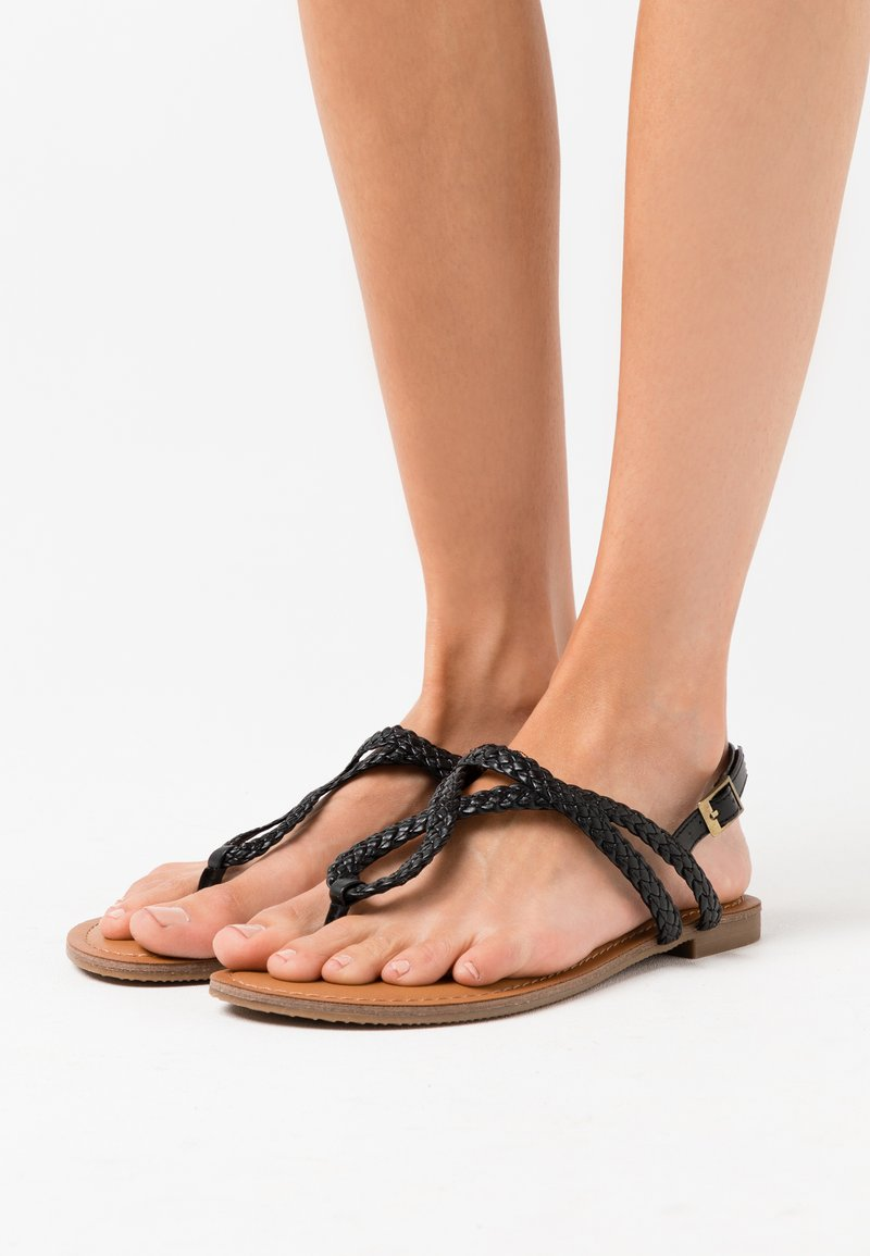 Madden Girl - ARIAA - T-bar sandals - black paris