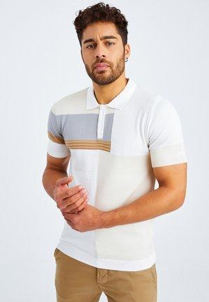 Polo shirt - ecruweiß\beige