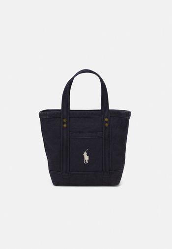 SMALL TOTE LARGE - Handbag - navy