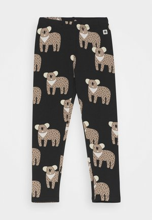 MINI KOALA UNISEX - Leggings - off black