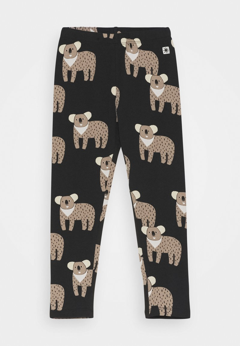 Lindex - MINI KOALA UNISEX - Leggings - Trousers - off black
