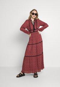 Vero Moda - VMALICE ANCLE DRESS - Maxi dress - marsala/rosey - 1