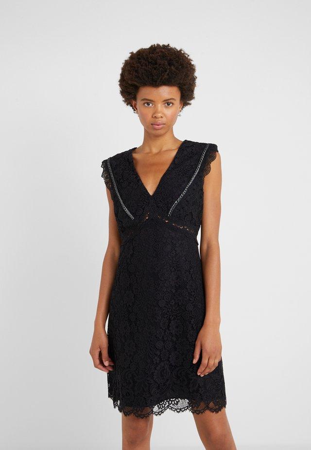 NINNARE ABITO - Cocktail dress / Party dress - nero bianco
