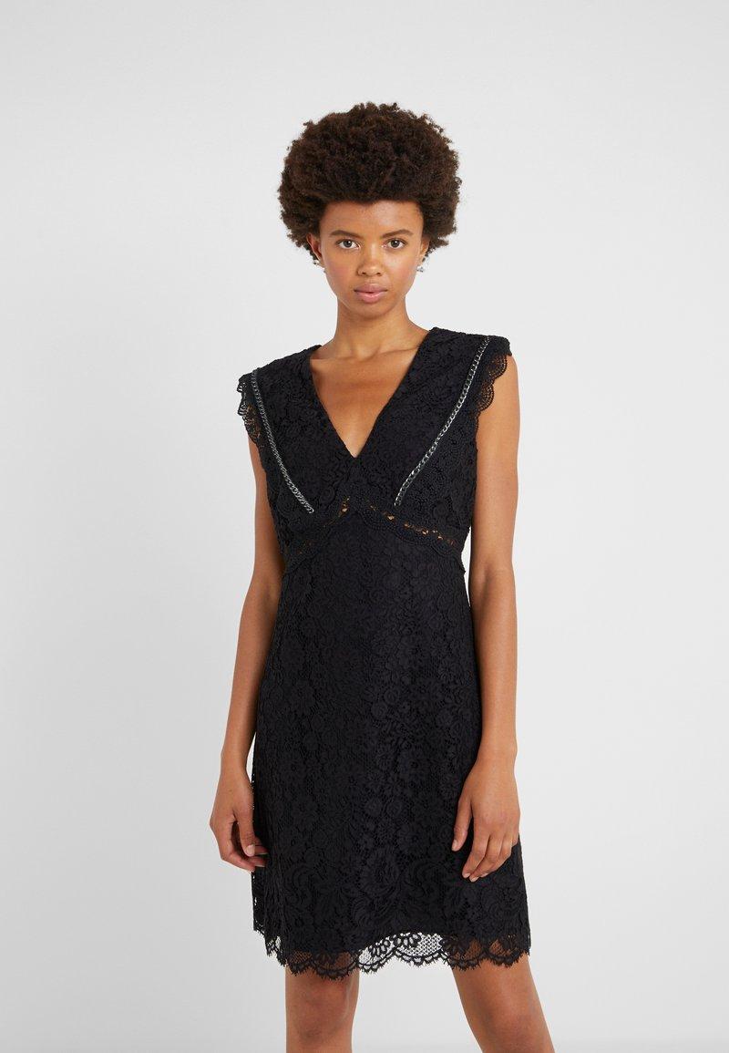 Pinko - NINNARE ABITO - Cocktail dress / Party dress - nero bianco