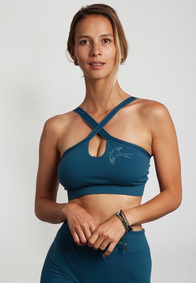 KONASANA - Sports bra - blue