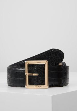 NICHE BELT - Pásek - black