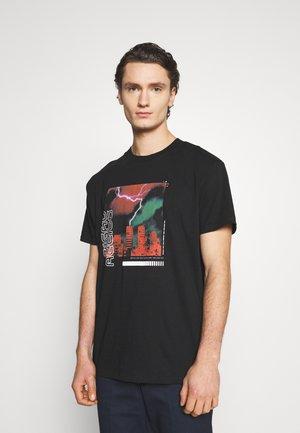 NATWICE - Camiseta estampada - black