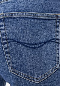 PULL&BEAR - MOM - Jeansy Slim Fit - blue - 5