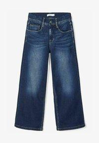 Name it - Jeans Bootcut - dark blue denim - 0