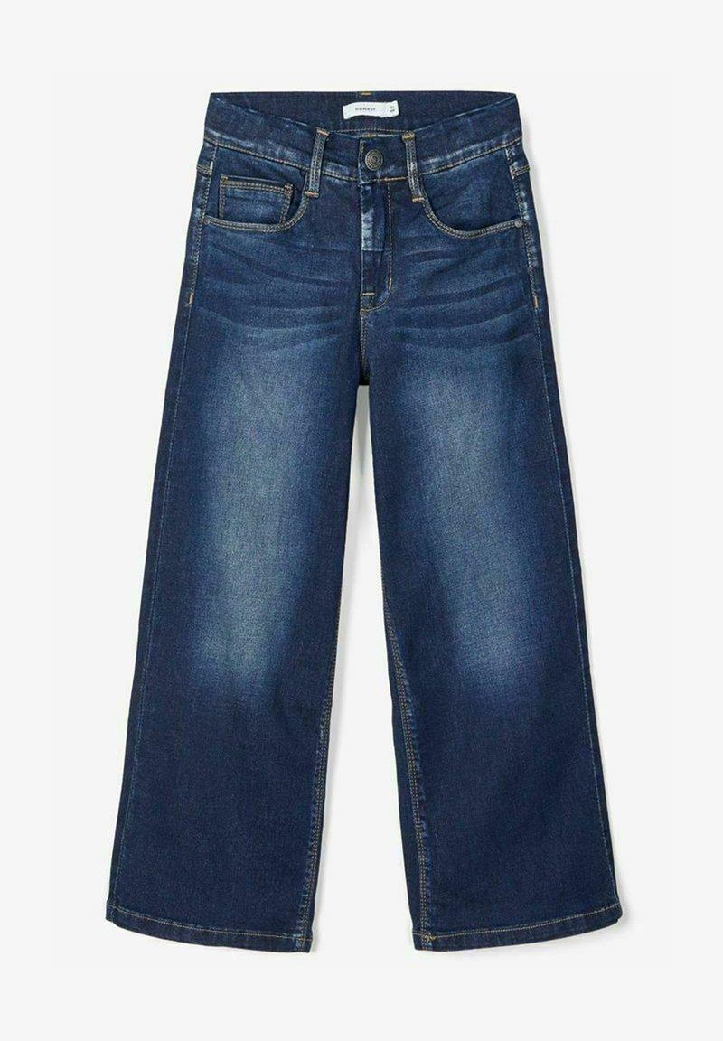 Name it - Jeans Bootcut - dark blue denim