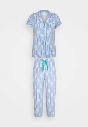 JAIPUR MASCULINE STRIPES - Pyjama - blue