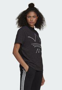 adidas Originals - TEE - T-shirt print - black melange - 2