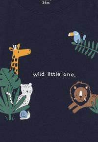 Carter's - ANIMAL SET - Print T-shirt - dark blue - 2
