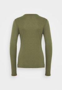GAP - HENLEY - Long sleeved top - army jacket green - 1