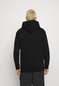 274 - SKULL ROSE HOODIE - Sweatshirts - black - 2