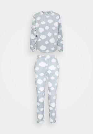 ONLCAYA NIGHTWEAR SET - Pyjamas - blue fog