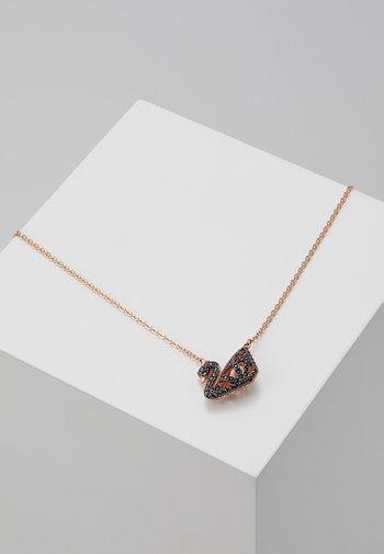 FACET SWAN NECKLACE  - Necklace - jet