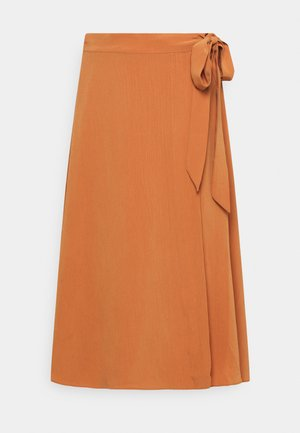 YASSUNNA MIDI WRAP SKIRT ICON - A-line skirt - sunburn