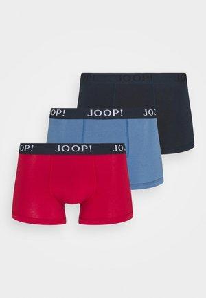 3 PACK - Pants - red/dark blue/light blue