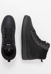 Fila - KNOX MID - High-top trainers - black - 1