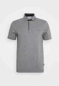Calvin Klein - LIQUID HEATHER - Polo shirt - black - 4