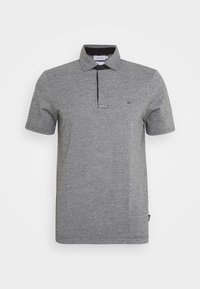 LIQUID HEATHER - Polo shirt - black