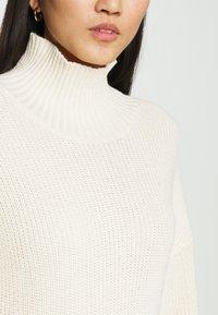 esmé studios - SCARLETT DRESS - Strikket kjole - egg white - 5
