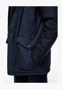 s.Oliver - IM FABRIC MIX - Winter coat - dark blue - 6