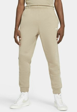 REPEAT - Jogginghose - khaki/white