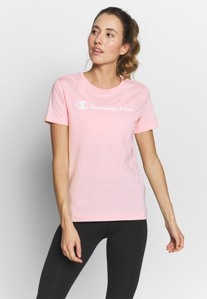 CREWNECK - T-shirt con stampa - pink