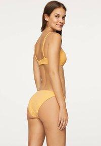 OYSHO - GINGHAM CLASSIC - Bikiniunderdel - yellow - 3