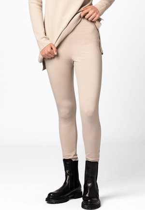 Leggings - Trousers - milchkaffee