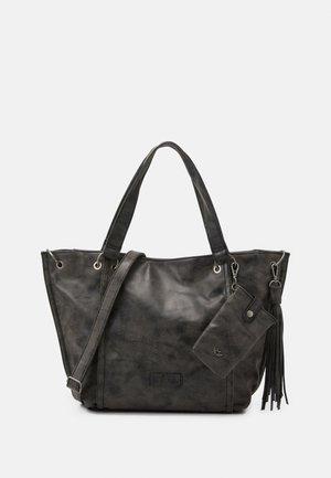 SET - Shopping bag - black idol