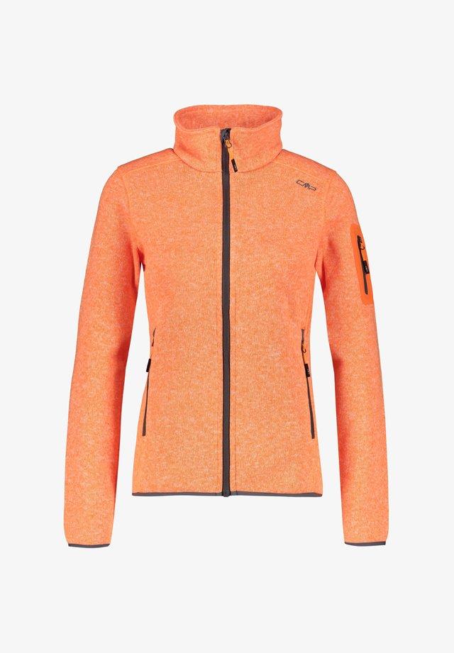 Fleece jacket - orange
