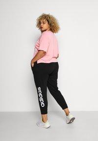 adidas Performance - PANT - Teplákové kalhoty - black/white - 2