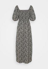 Missguided Tall - MILKMAID SHIRRED BUST MIDI FLORAL - Maxi dress - black - 0