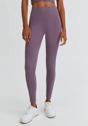 IM KOMFORT-FIT - Leggings - Trousers - mottled light pink