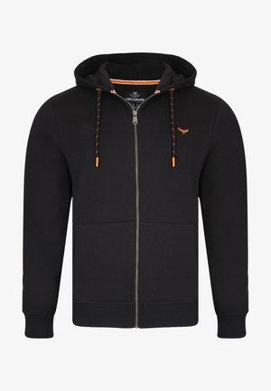 TANGERINE - veste en sweat zippée - schwarz