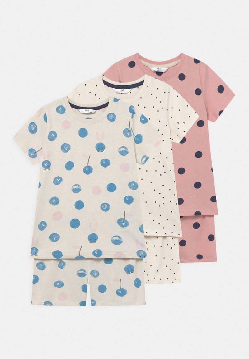 Marks & Spencer London - SPOT 3 PACK  - Pyžamová sada - multi-coloured