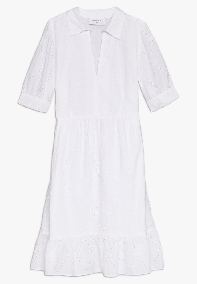 Robe d'été - brilliant white