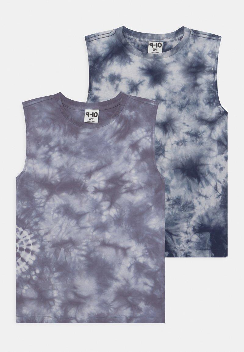 Cotton On - 2 PACK - Top - steel/indigo