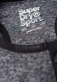 Superdry - MIT EINSATZ - T-shirt bra - mottled black - 3