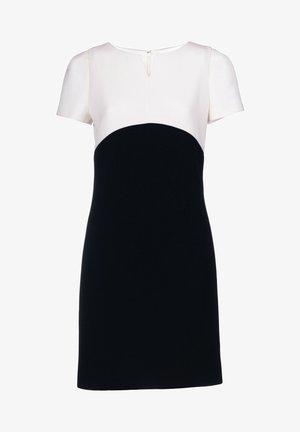 GARANTI - Jumper dress - nero/panna