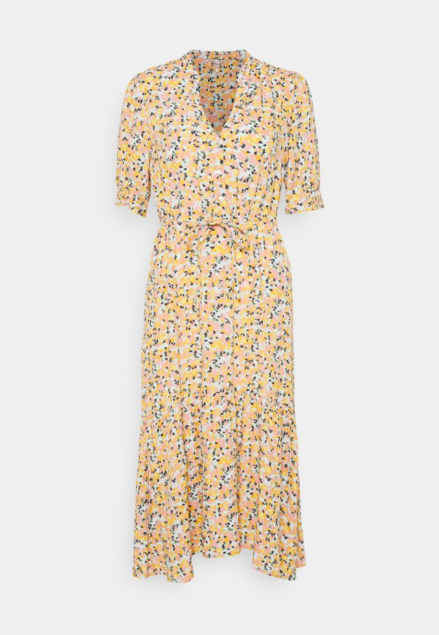 DRESS BOUQUET PRINT - Blousejurk - yellow