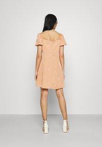Fashion Union - COMBARRO DRESS - Day dress - brown - 2