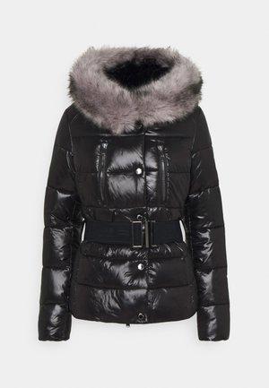 CHROMIUM QUILT - Winter jacket - black