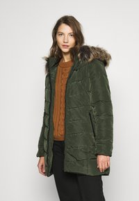 ONLY - ONLNEWMINEA QUILTED HOOD COAT - Parka - rosin - 0