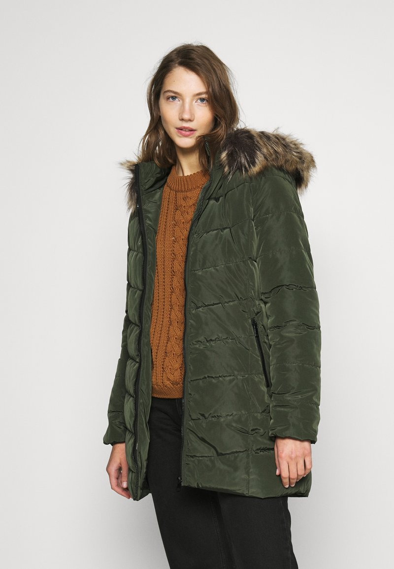 ONLY - ONLNEWMINEA QUILTED HOOD COAT - Parka - rosin