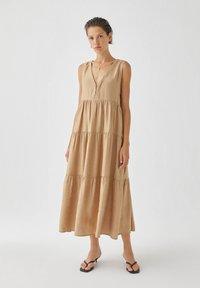 PULL&BEAR - Day dress - beige - 1